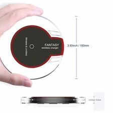 US Seller Qi Wireless Clear Charger Charging Pad ,Mat Dock For iPhone Samsung S8