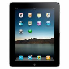 Apple iPad 1st Generation A1219 16GB Wifi  9.7in Black ST280229