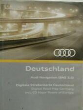 Audi Navigation BNS 5.0 Deutschland +Hauptstraßen Europa 2018 8E0060884 A4 A3 TT