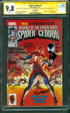 Spider Geddon 0 CGC 9.8 3XSS Zeck Sketch 2018 Secret Wars Spider Man Variant