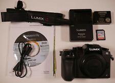 Panasonic LUMIX DMC-G7 16MP 4K Digital Camera Body Only Shutter Count: 3941