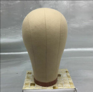 NEW Professional Mannequins Canvas Cork Block Head Wig Toupee Style 21'' - 24''