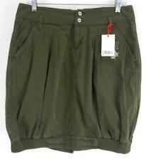 GSUS SINDUSTRIES Moss Green Woven Army Skirt Urban Outfitters MEDIUM