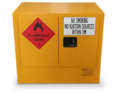100L Flammable Goods Safety Cabinet, NEW - for safe storage of flammable goods -