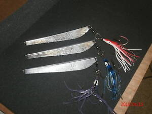 3 Cod Jigs 16 oz. (Unplated) with a treble hook
