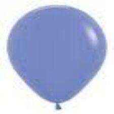 "12 Deluxe Periwinkle Latex Balloons Helium Grade 11"""