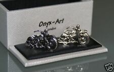 Cufflinks - Motorcycle Motorbike* New * Gift