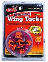 NEW! HME RWT-25 Reflective Wing Tack 25Pk Orange