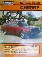 Datsun Cherry 1979-1982 Car Repair Manual new old stock free p&p to uk