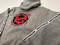 2019  Bodybuilding Hoodie Men's Black or grey Long Sleeve Sweatshirt Gym Shirt