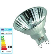 OSRAM G9 Halogen Lampe Decopin 40 Watt 60040 FL Stecklampe 230 Volt Flood 40Grad
