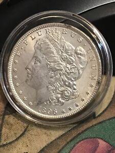 1896 MORGAN SILVER DOLLAR BU LUSTER