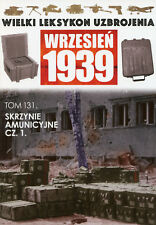 Polish Army WWII Ammo Boxes - Military History - BOOK IN POLISH