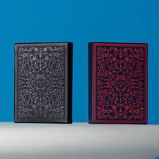 2 Cubiertas tarjetas MailChimp Rojo/Negro por Theory11