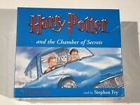 HARRY POTTER AND THE CHAMBER OF SECRETS AUDIO CD COMPLETE & UNABRIDGED NEW