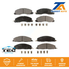 Front Rear Ceramic Pads Pair For Ram 2500 3500 1500 Dodge