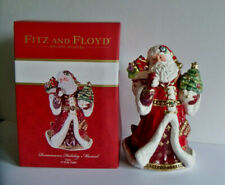 Fitz and Floyd Holiday Musical Renaissance ChristmasTune: Oh Holy Night New Box