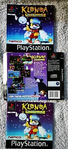 KLONOA DOOR TO PHANTOMILE Spanish Inserts And Manual Only PS1