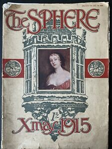 CHRISTMAS NUMBER THE SPHERE 1915 Edmund Blampied 1st World WW Susan Pearce