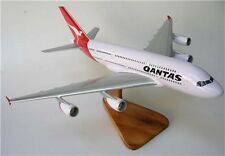 A-380 Qantas Airlines Airbus 380 Airplane Wood Model Small