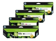 4 ORIGINAL TINTA HP OFFICEJET PRO X451DW X476DW X576DW/970xl+971xl CARTUCHO