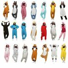 Animal Cosplay Soft Pyjamas  Kigurumi Winter Warm Jumpsuit OnePiece Winter Suit+