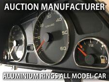 Peugeot 306 Facelift 1997-2002  Cerclages De Compteur Aluminium Anneaux Chrome