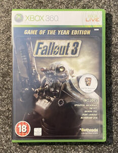 Fallout 3 Game Of The Year Edition (Xbox 360) Professionally Cleaned Discs