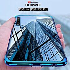 COVER per Huawei P30 / Lite / Pro CUSTODIA ELECTRO + PELLICOLA VETRO TEMPERATO