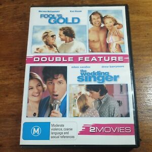 Fool's Gold + The Wedding Singer DVD R4 LIKE NEW FREE POST