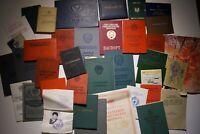 Konvolut Sammlung Dokumente Urkunden Ausweis UdSSR Sowjetunion Russland СССР 02