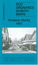 OLD ORDNANCE SURVEY MAP DROITWICH NORTH 1901