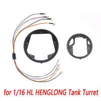 360 Rotation Gear Elektrisch Schleifring für HengLong 1:16 RC Panzer Tank Turret