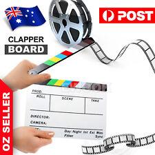 Clapperboard Clapper Board TV Movie Slate Colorful Clapboard Clapper Board Film