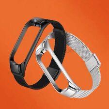 New Wrist Strap Metal Armband For Xiaomi Mi Band 5 4 3 Stainless Steel Wristband