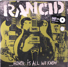 Rancid ‎– Honor Is All We Know LP / Ltd Splatter Vinyl + CD / New (2014) Punk