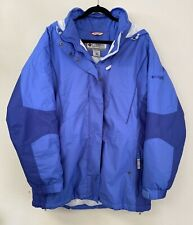 Columbia Women's Jacket 1X RN69724 CA05367 Winter Ski Sports Insulated Blue