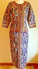 NEW! Singapore Collection: exclusive outfit authentic top+long skirt  size 34