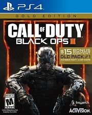 Call of Duty Black Ops III 3 Gold Edition PlayStation 4 2016 $15 DLC Pack Zombie