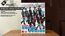 Super Junior & Infinite - Sparkling Winter 2014 Magazine (Philippine Version)