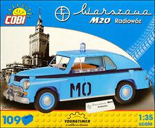 COBI Warszawa M20 Radiowoz (24551) - 109 elem. - Polish police car