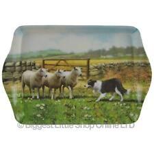 NEW Farm Yard MINI Small Sheep Tray by Leonardo; Collie Dog Farming Snack Size