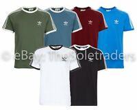 Men's Adidas Originals California Adi Tee Cotton T Shirt 3 Stripes Adicolor