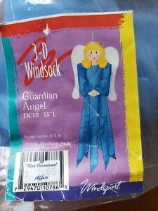 "Windsport GUARDIAN ANGEL 3D Windsock 55"" NEW"