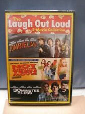 Zombieland, 30 Minutes or Less, Not Another Teen Movie (Comedy DVD, 2-Disc Set)