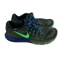 Nike Mens Air Zoom Terra Kiger 3 Running Shoes Size 9 Cargo Khaki Royal Blue