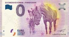 Billets Euro Schein Souvenir Touristique 2019 Suomenhevonen Finnhorse