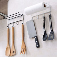 Kitchen Cabinet Towel Cup Paper Hanger Rack Organizer Storage Shelf Holder