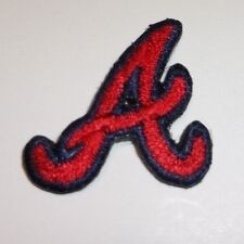 """Atlanta Braves Embroidered PATCH~1 1/8"""" x 1""""~Iron Sew On~MLB~Ships FREE"""