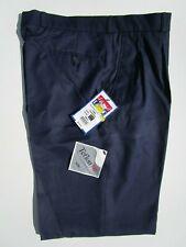 "david LUKE Boys School Trousers Pants Teflon-HT Blue DL948 Waist W34"" Leg 32"""